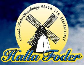 Vi använder svenskt färskfoder från Halla Foder